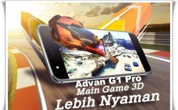 Advan G1 Pro Lebih Nyaman Main Game