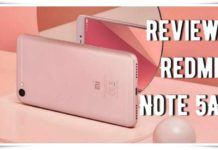 Review Redmi Note 5A Area Cewe