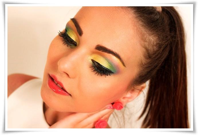 tips tampil beda dengan ombre make up look