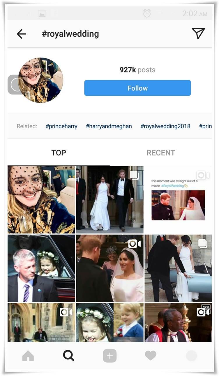 cara menjadi Top Post di Instagram