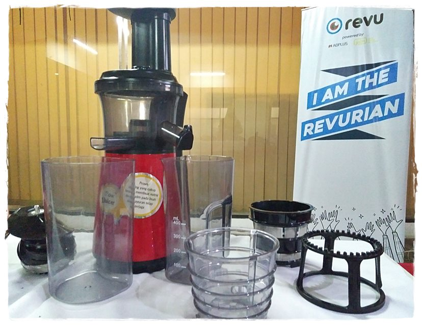 Sharp Slow Juicer EJ-C20Y-RD