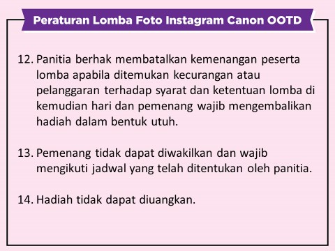 Canon EOS M100 OOTD Competition