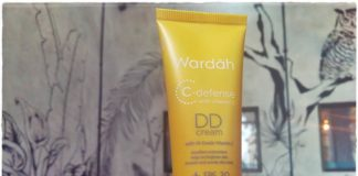 wardah c-defence dd cream
