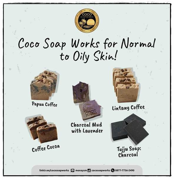 Varian Coco Soap Works Artisan Homemade Soap