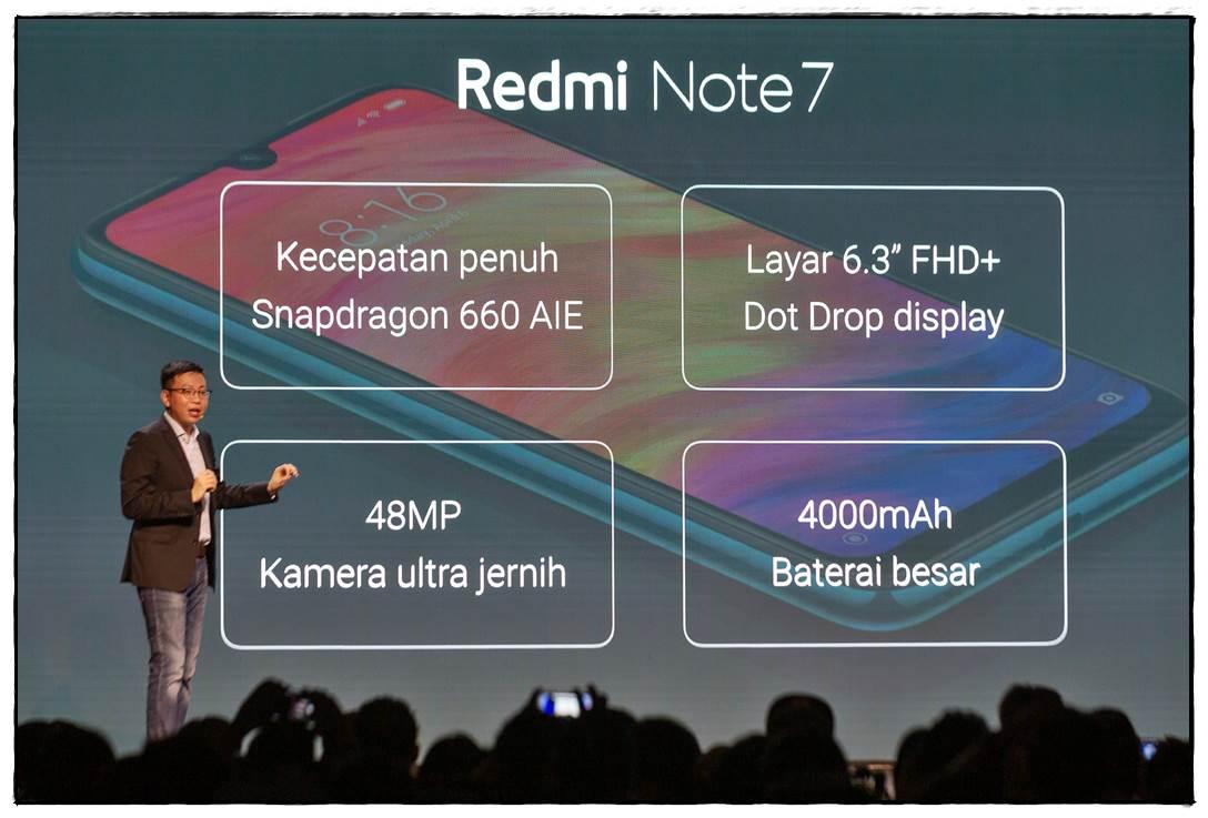 Spesifikasi Redmi Note 7