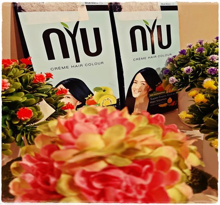 NYU haircolor - pewarna rambut bebas ammonia