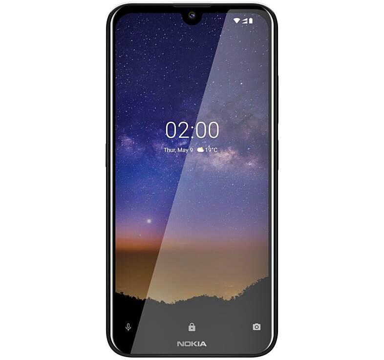 Nokia 2.2 Front Black