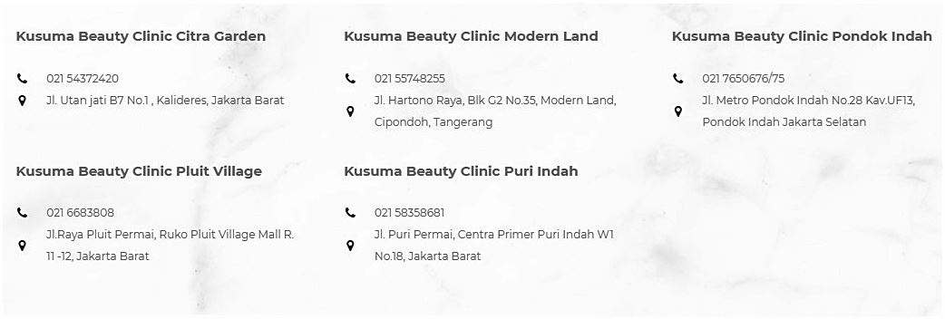 Lokasi Kusuma Beauty Clinic