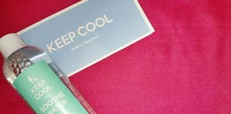 keep cool cleansing makeup