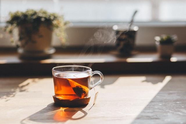 manfaat teh panas