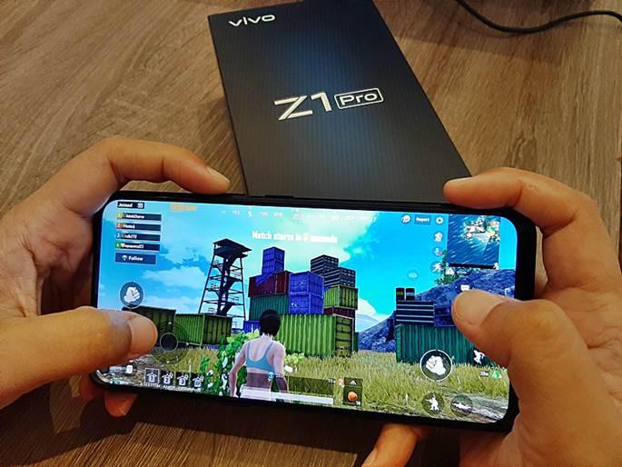 Vivo Z1 Pro PUBG
