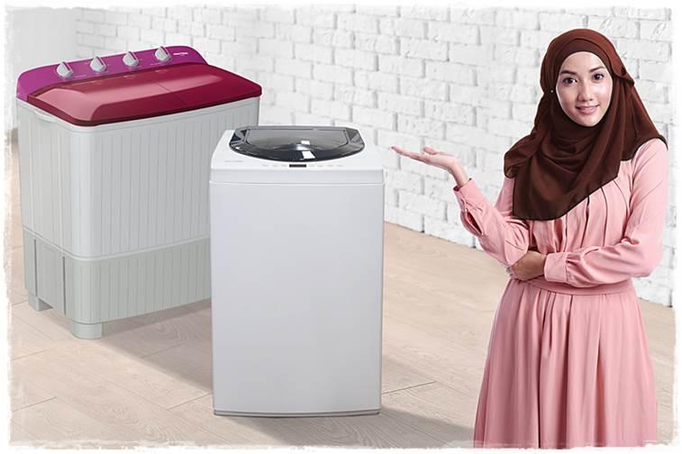 mesin cuci hijab
