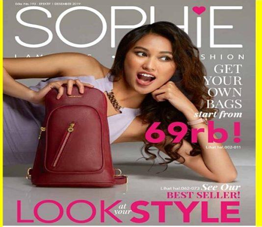 Katalog Desember Sophie Paris