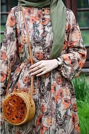 Fashion Busana Muslim Dengan Warna Pastel Terbaru