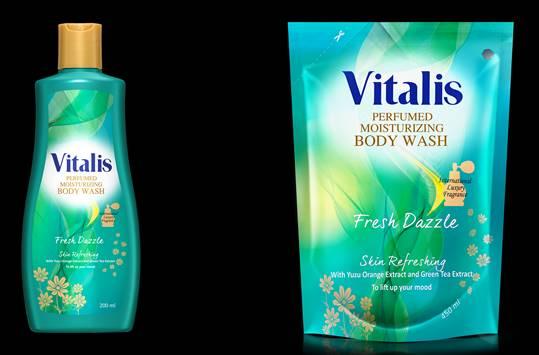 Vitalis Body Wash Fresh Dazzle