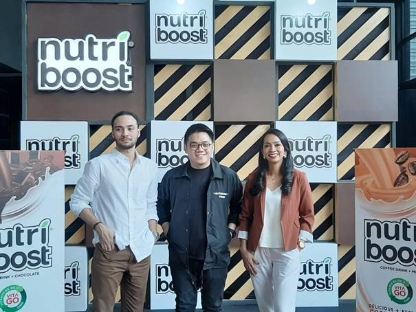 NUTRIBOOST dengan logo VITA GO