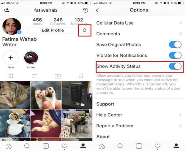 Cara Menonaktifkan Last Seen Instagram 2