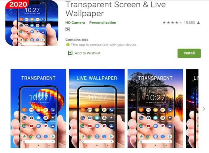 Cara Membuat Wallpaper Transparan Di Android