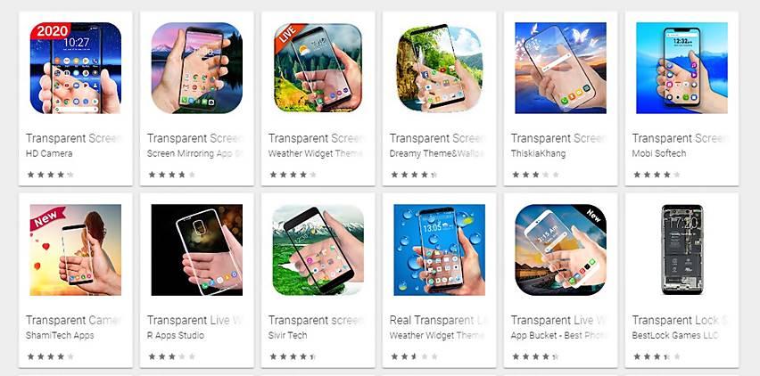 Daftar Aplikasi Wallpaper Transparan Di Android
