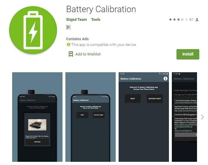 Kalibrasi Dengan Bantuan Aplikasi