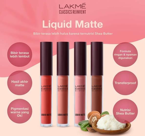 Lakme Classics Reinvent Liquid Matte Lip Cream